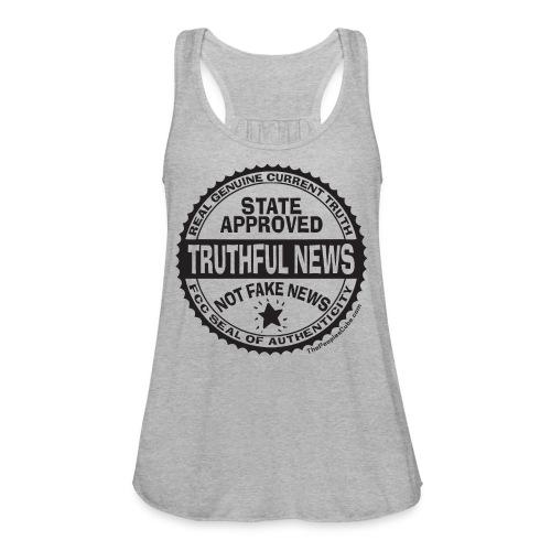 Truthful News FCC Seal - Women's Flowy Tank Top by Bella