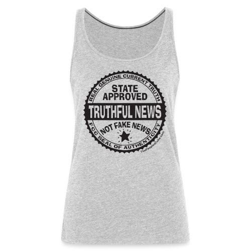 Truthful News FCC Seal - Women's Premium Tank Top