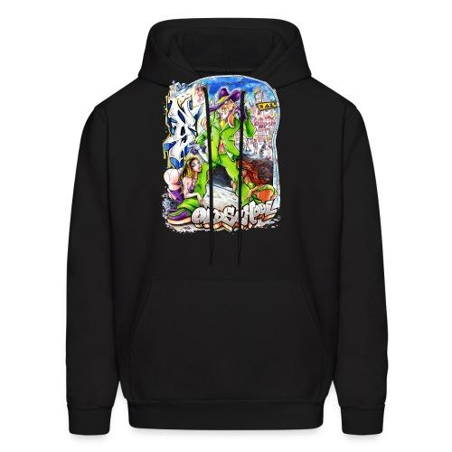 HOPS - Design for New York Graffiti Color Logo - Men's Hoodie