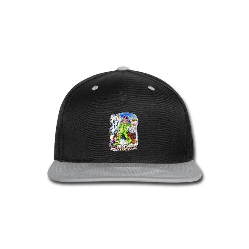 HOPS - Design for New York Graffiti Color Logo - Snap-back Baseball Cap