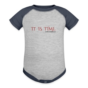 Preytorians - It Is Time Men's T (Grey) - Baby Contrast One Piece