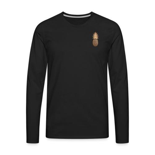 Pineapple T-shirt - Men's Premium Long Sleeve T-Shirt