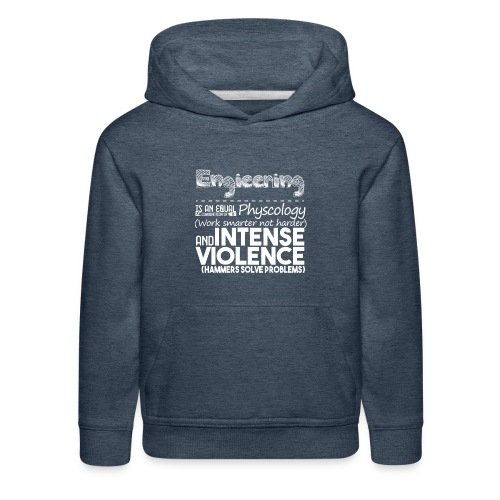 Engineering Discription - Kids' Premium Hoodie
