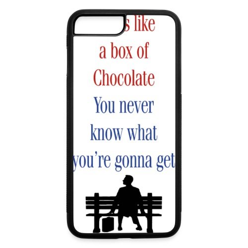 Box of Chocolate - iPhone 7 Plus/8 Plus Rubber Case
