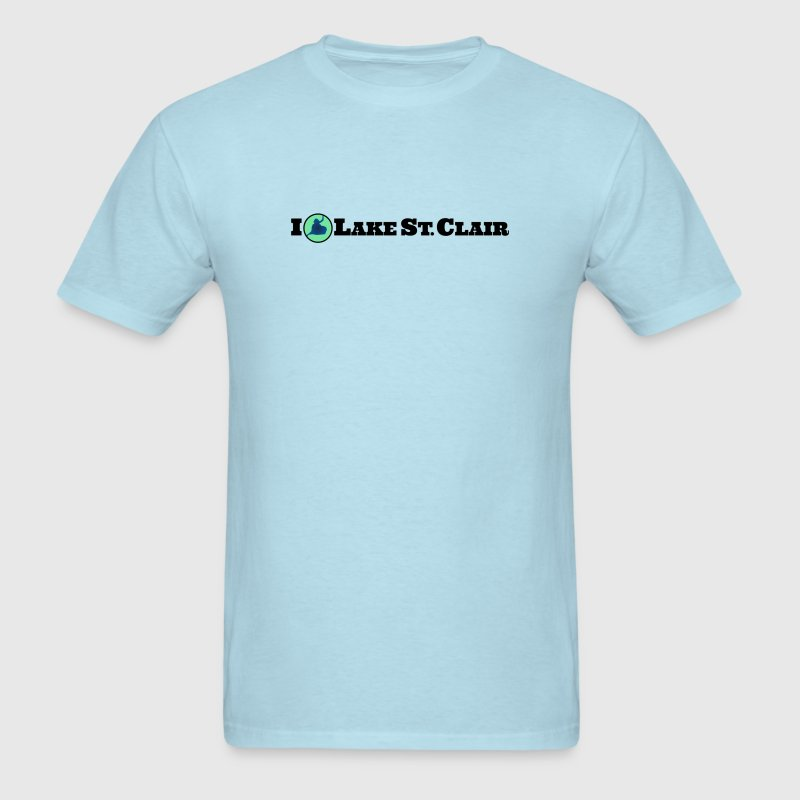 I love Lake St. Clair - Men's T-Shirt
