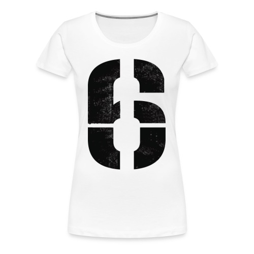 Dialed in for #6 - Women's Premium T-Shirt