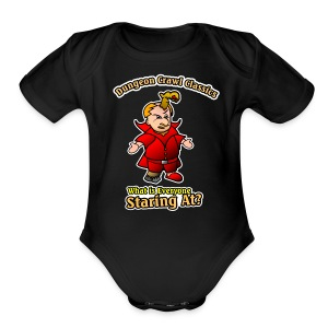 What is everyone staring at? - Short Sleeve Baby Bodysuit