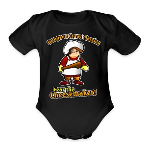Fear the Cheesemaker! - Short Sleeve Baby Bodysuit
