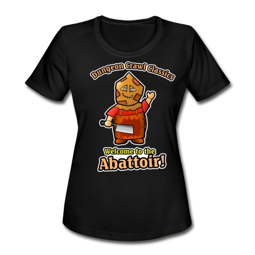 Welcome to the Abattoir! - Women's Moisture Wicking Performance T-Shirt