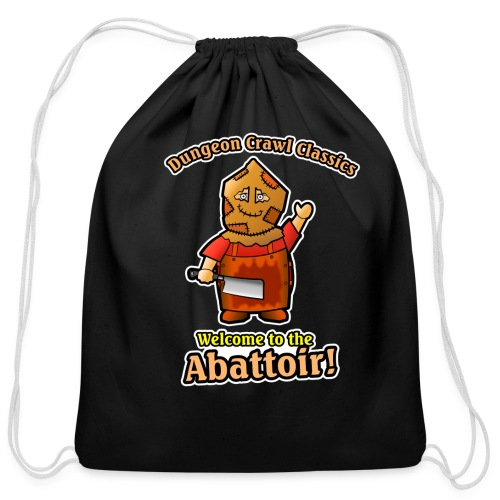 Welcome to the Abattoir! - Cotton Drawstring Bag