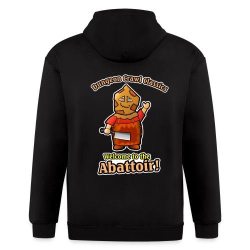 Welcome to the Abattoir! - Men's Zip Hoodie