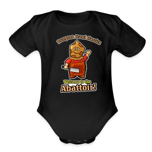 Welcome to the Abattoir! - Short Sleeve Baby Bodysuit