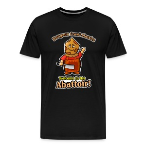 Welcome to the Abattoir! - Men's Premium T-Shirt