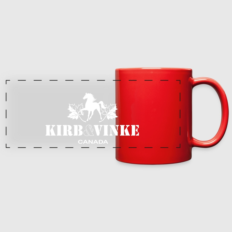 Maple Horse -White Mugs & Drinkware - Full Color Panoramic Mug