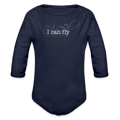 I can fly t-shirt - Organic Long Sleeve Baby Bodysuit