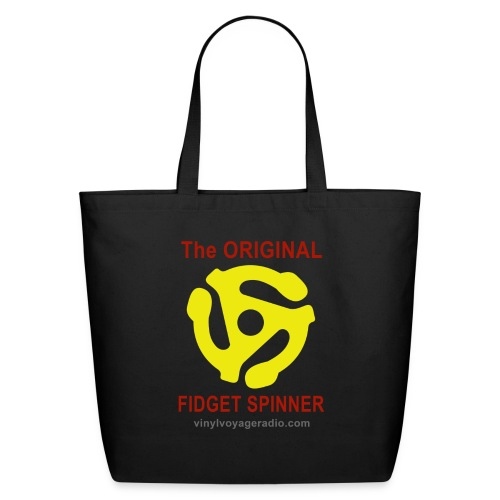 Original Fidget Spinner-Red Lettering - Eco-Friendly Cotton Tote