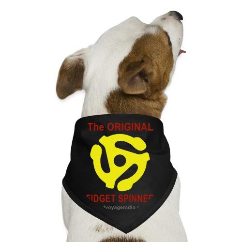 Original Fidget Spinner-Red Lettering - Dog Bandana