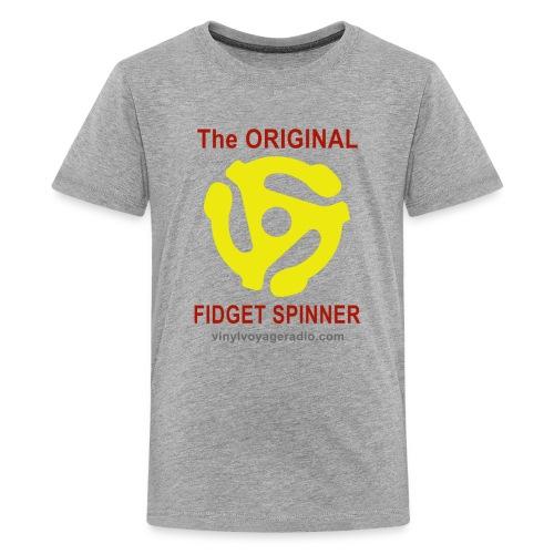 Original Fidget Spinner-Red Lettering - Kids' Premium T-Shirt