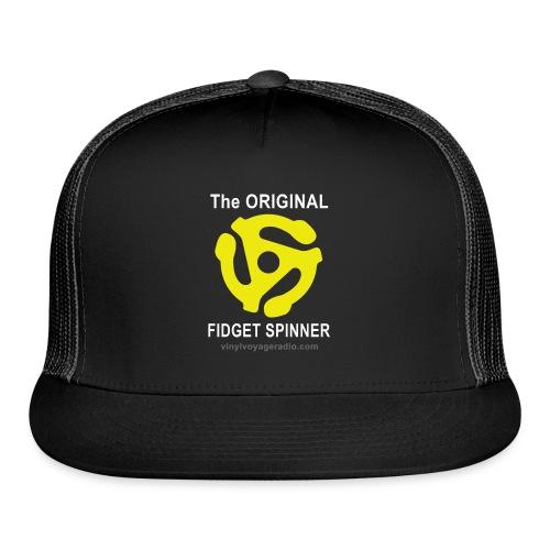 Original Fidget Spinner-White Lettering - Trucker Cap