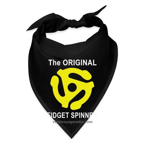 Original Fidget Spinner-White Lettering - Bandana