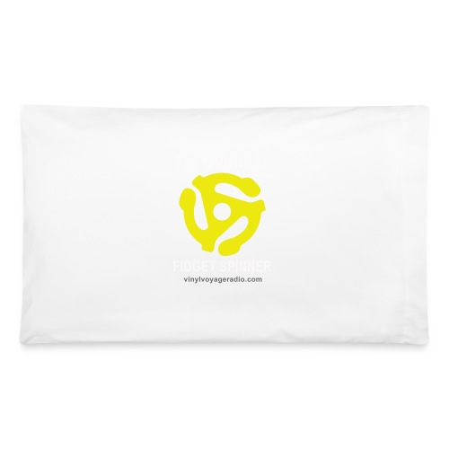 Original Fidget Spinner-White Lettering - Pillowcase