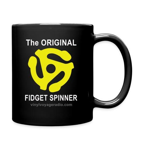 Original Fidget Spinner-White Lettering - Full Color Mug