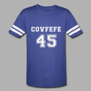 Covfefe 45 sports jersey - Vintage Sport T-Shirt