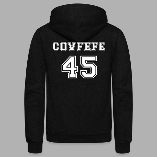 Covfefe 45 sports jersey - Unisex Fleece Zip Hoodie