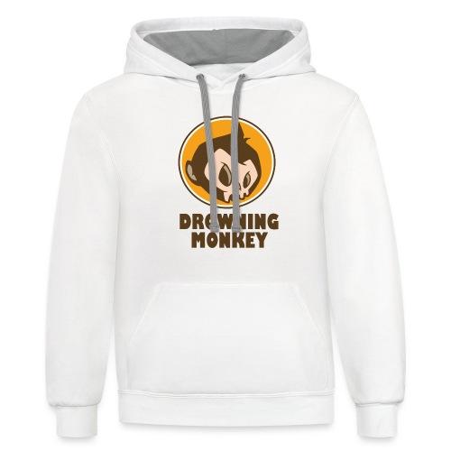 Drowning Monkey  - Contrast Hoodie