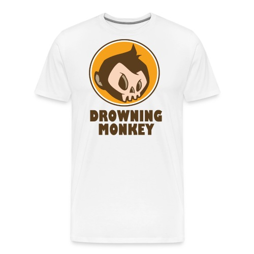 Drowning Monkey  - Men's Premium T-Shirt