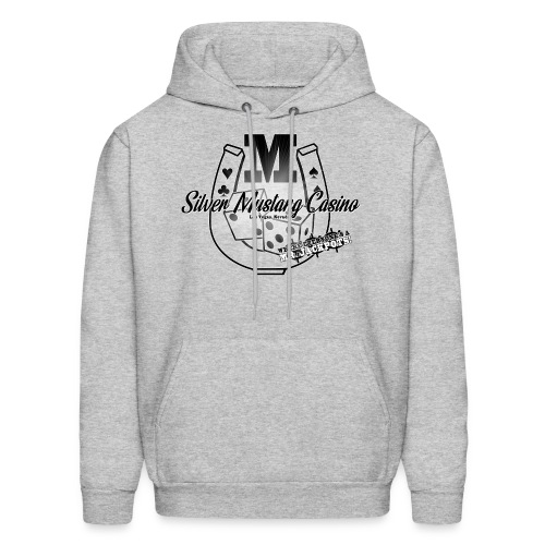Silver Mustang Casino - Mr. Jackpots - Men's Hoodie