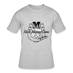 Silver Mustang Casino - Mr. Jackpots - Men's 50/50 T-Shirt