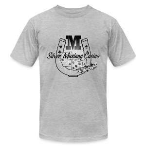 Silver Mustang Casino - Mr. Jackpots - Men's Fine Jersey T-Shirt