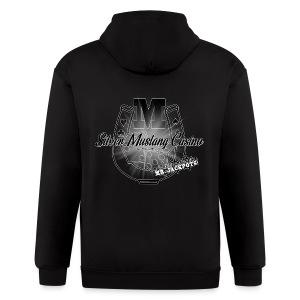 Silver Mustang Casino - Mr. Jackpots - Men's Zip Hoodie