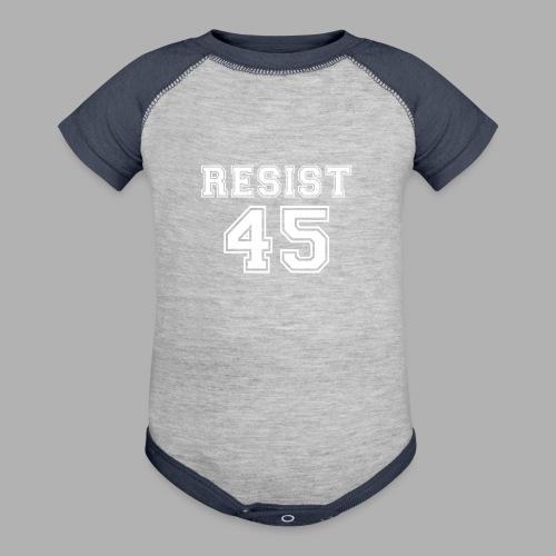 Resist 45 - Contrast Baby Bodysuit
