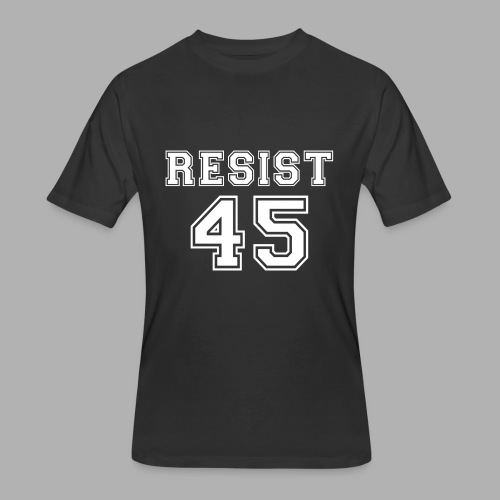 Resist 45 - Men's 50/50 T-Shirt