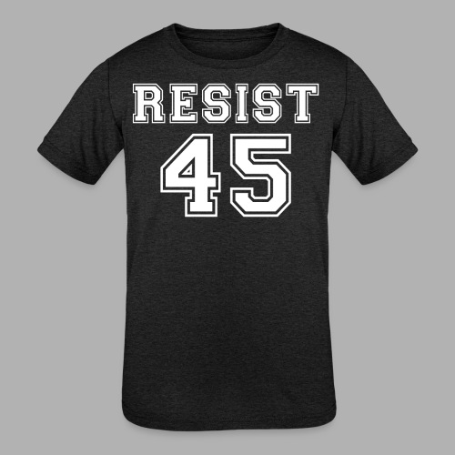 Resist 45 - Kids' Tri-Blend T-Shirt