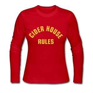 Cider House Rules (Monster Squad) - Women's Long Sleeve Jersey T-Shirt