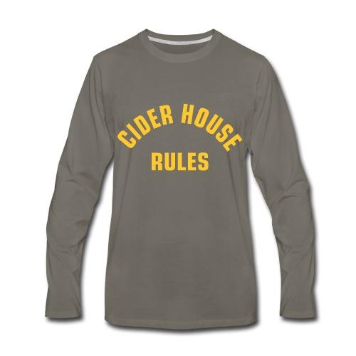 Cider House Rules (Monster Squad) - Men's Premium Long Sleeve T-Shirt