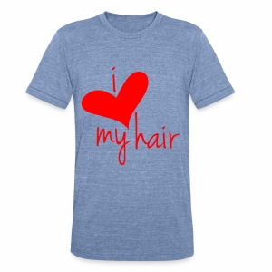 i Love my Afro 19 - Unisex Tri-Blend T-Shirt