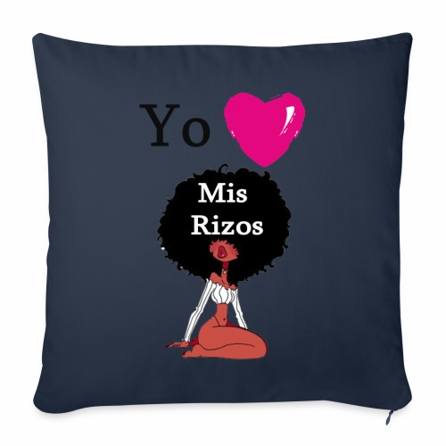 i Love my Afro 45 - Throw Pillow Cover