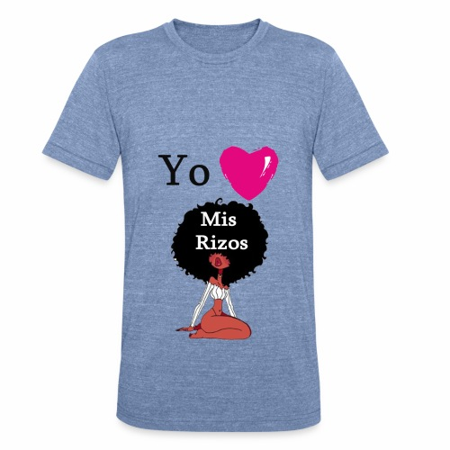 i Love my Afro 45 - Unisex Tri-Blend T-Shirt