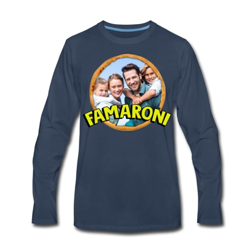 Famaroni Men's Shirt - Men's Premium Long Sleeve T-Shirt