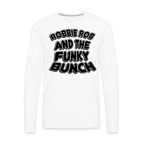 Funky Bunch Men's Shirt - Men's Premium Long Sleeve T-Shirt