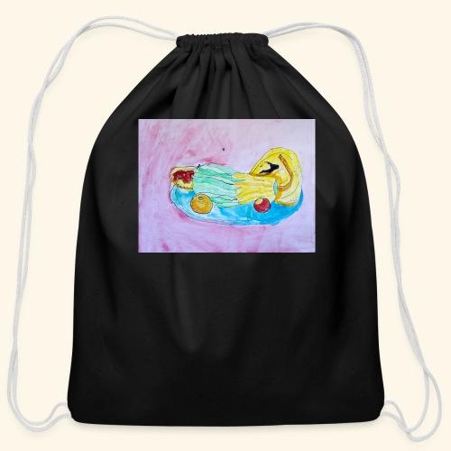 Fruits and Vegetables - Cotton Drawstring Bag