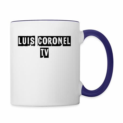 T SHIRT MEN LONG SLEEVE - Contrast Coffee Mug