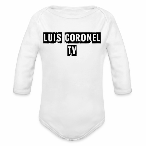 T SHIRT MEN LONG SLEEVE - Organic Long Sleeve Baby Bodysuit