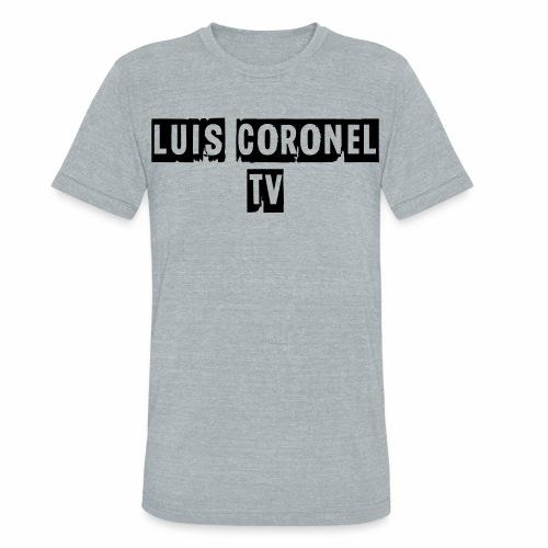 T SHIRT MEN LONG SLEEVE - Unisex Tri-Blend T-Shirt