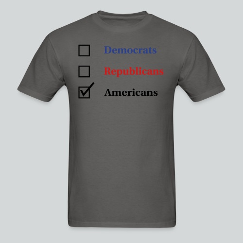 Election Ballot - Americans - Men's T-Shirt