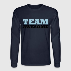 Team awesome - Men's Long Sleeve T-Shirt